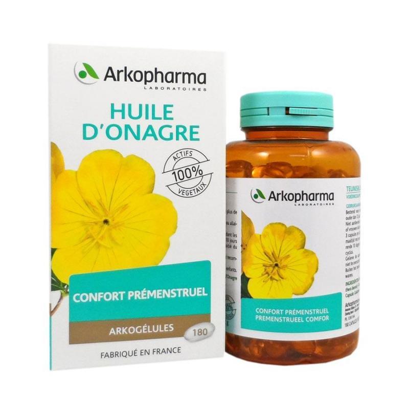 Arkogelules huile onagre arkopharma 180