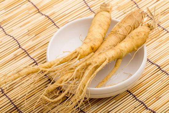 Ginseng et trompes bouchees